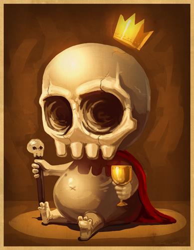 King Scully Король-Черепок