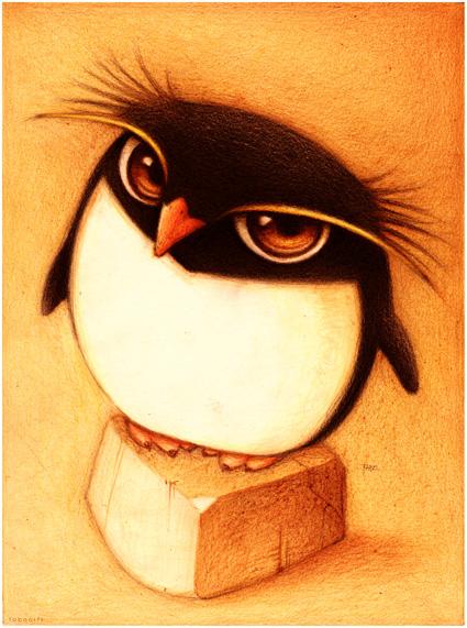 суровый пингвин