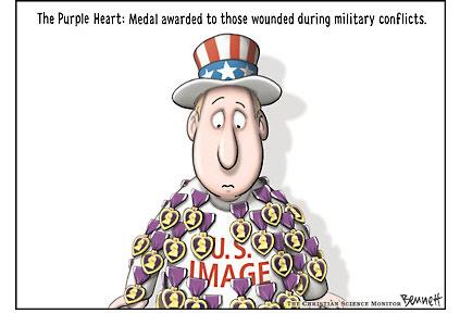 Пурпурное сердце имиджу США