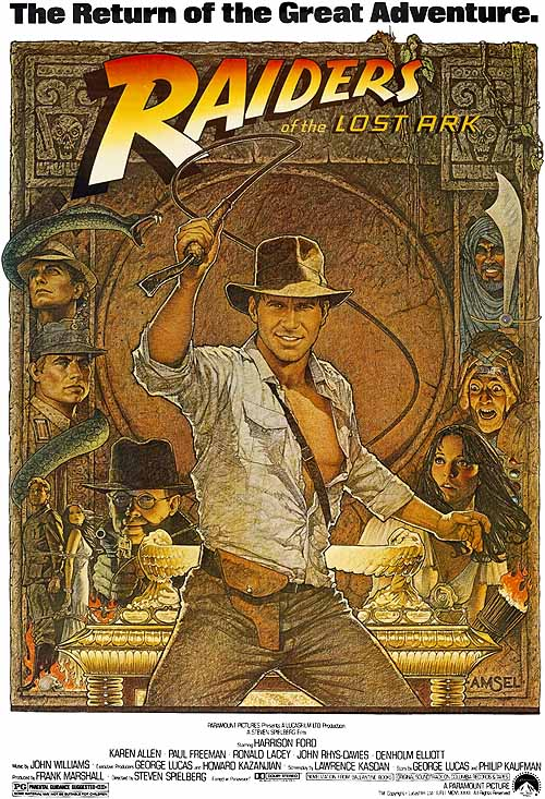 Raiders Of The Lost Ark (1982) - Amsel