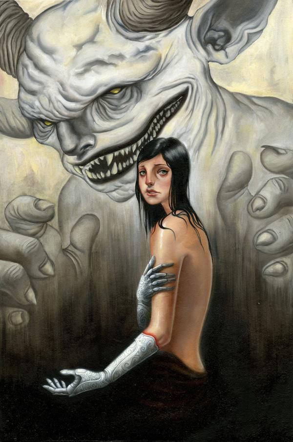 Девушка с серебряными руками