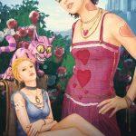 """Иллюстрация неизвестного автора на тему """"Алиса в Стране чудес"""""""