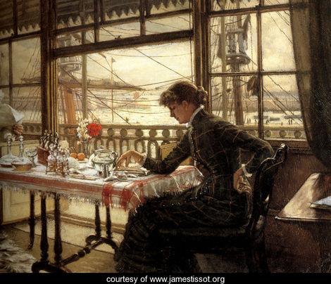 James Jacques Joseph Tissot Комната с видом на бухту