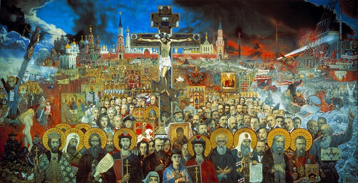 Илья Глазунов Вечная Россия