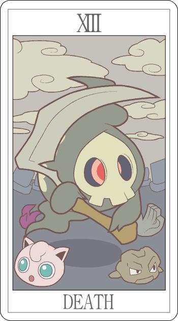 таро смерть покемон tarot death pokemon