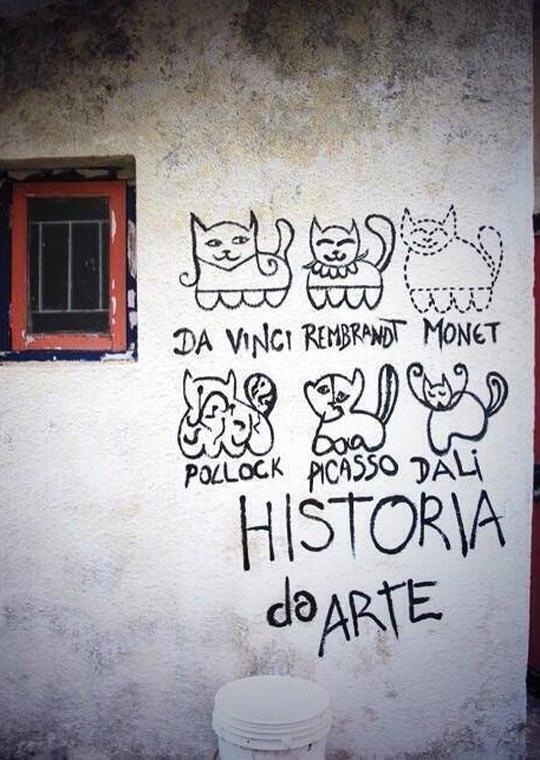 коты и история искусств