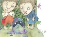 Иллюстрация к сказке Гинтараса Береснявичюса Юла, Волчок и Медный Вепрь