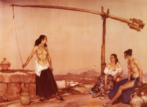 disputation at the well беседа у колодца