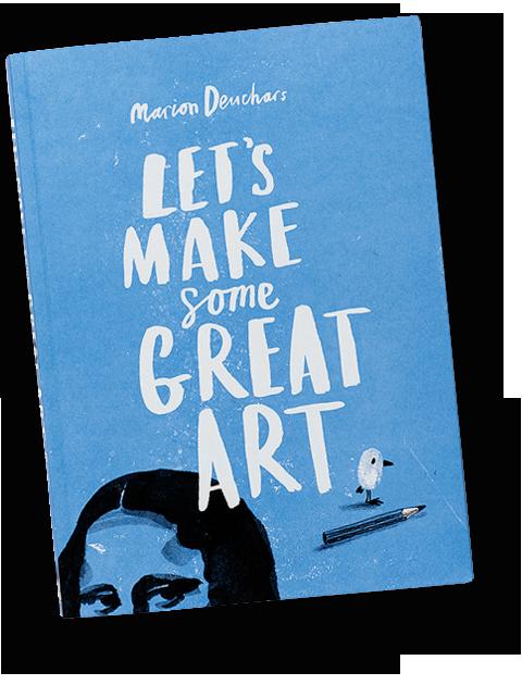 обложка книги Let's make some great art