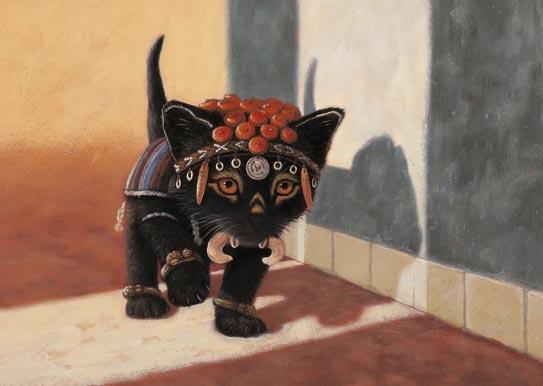 котенок индеец
