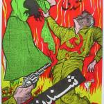Редкие антисоветские плакаты