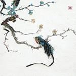 Барельефы из радиодеталей корейского художника Ким Юнг Су.