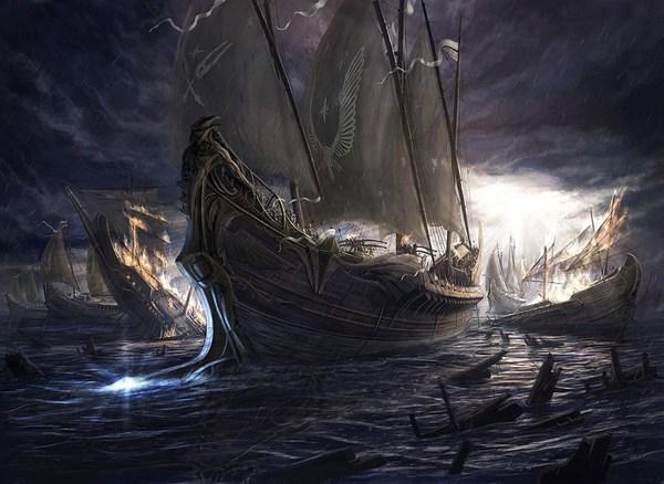 Эльфийские корабли