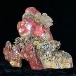 китайская статуэтка из натурального камня