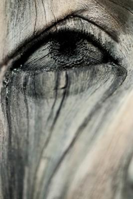 глаз скультура гиперреализм