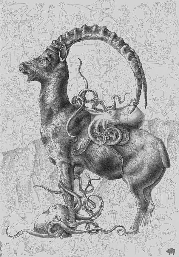 рисунок давита юханяна