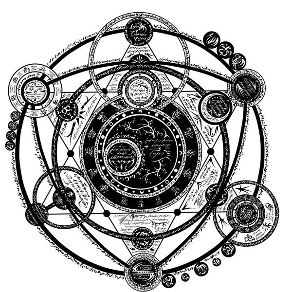 магические схемы и звезды