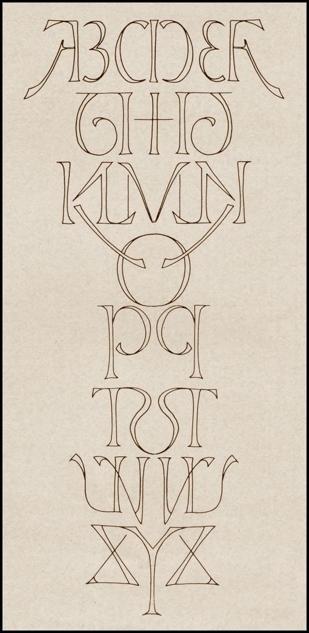 скотт ким симметричный алфавит амбиграмма