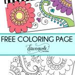 25 бесплатных раскрасок для взрослых.