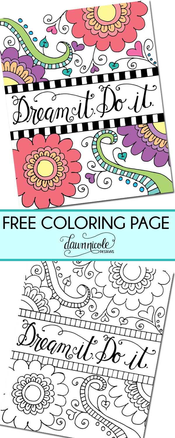 FreeColoringPage-DreamItDoIt