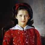 Глазастые, изнутри светящиеся — картины Валентина Серова