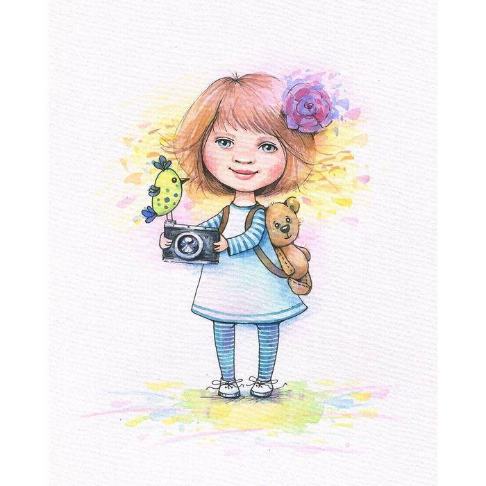 девочка-фотограф