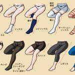 Как рисовать ноги в колготках.