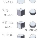 Как рисовать металлические поверхности.