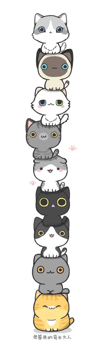 башня из котов