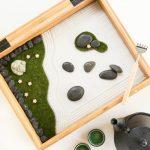 Как сделать настольный сад камней.