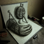 Трехмерные иллюстрации Нагаи Хидеюки.