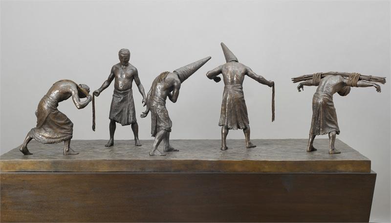 Скульптор Александр Цалихин.