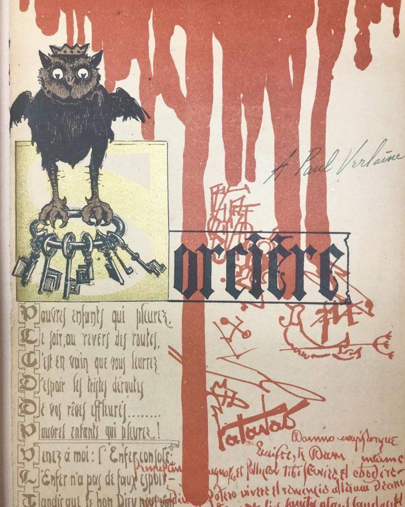 Оккультный календарь из 1896 года