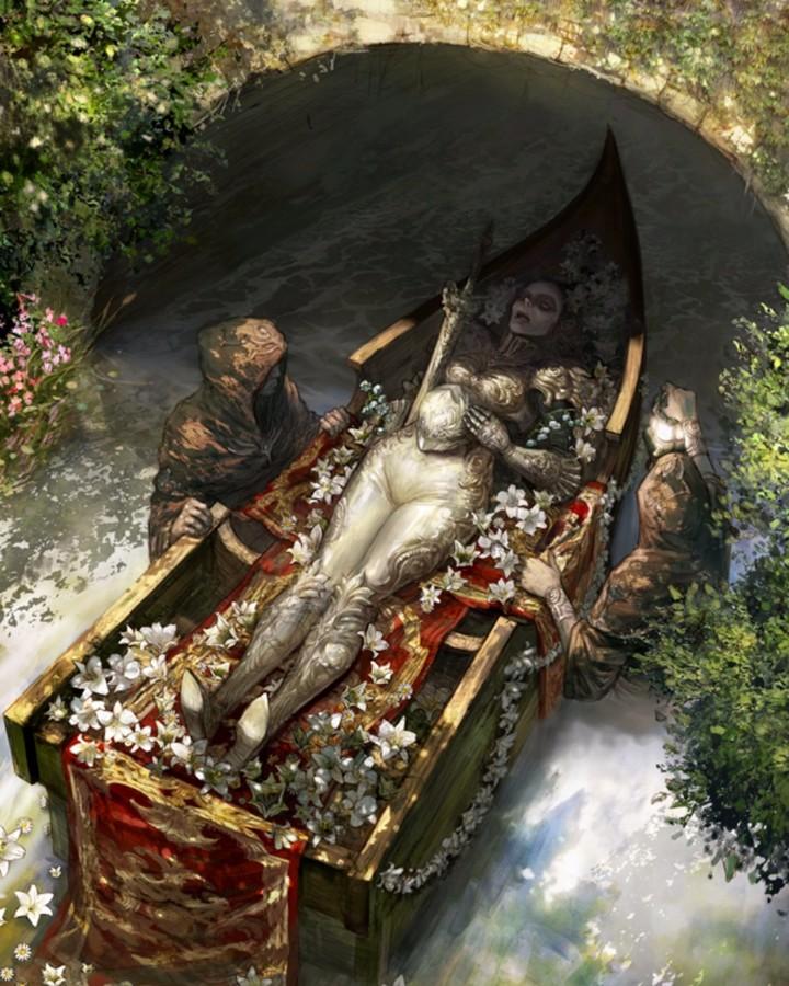 похороны на воде