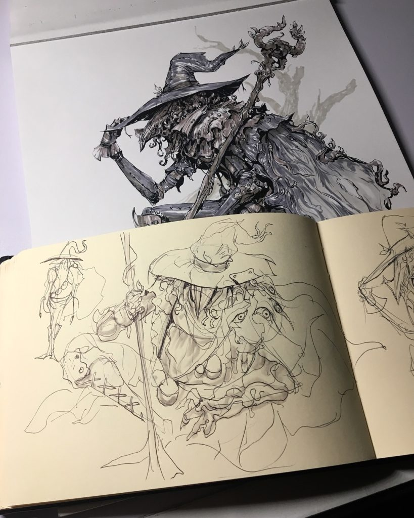 странный персонаж в шляпе