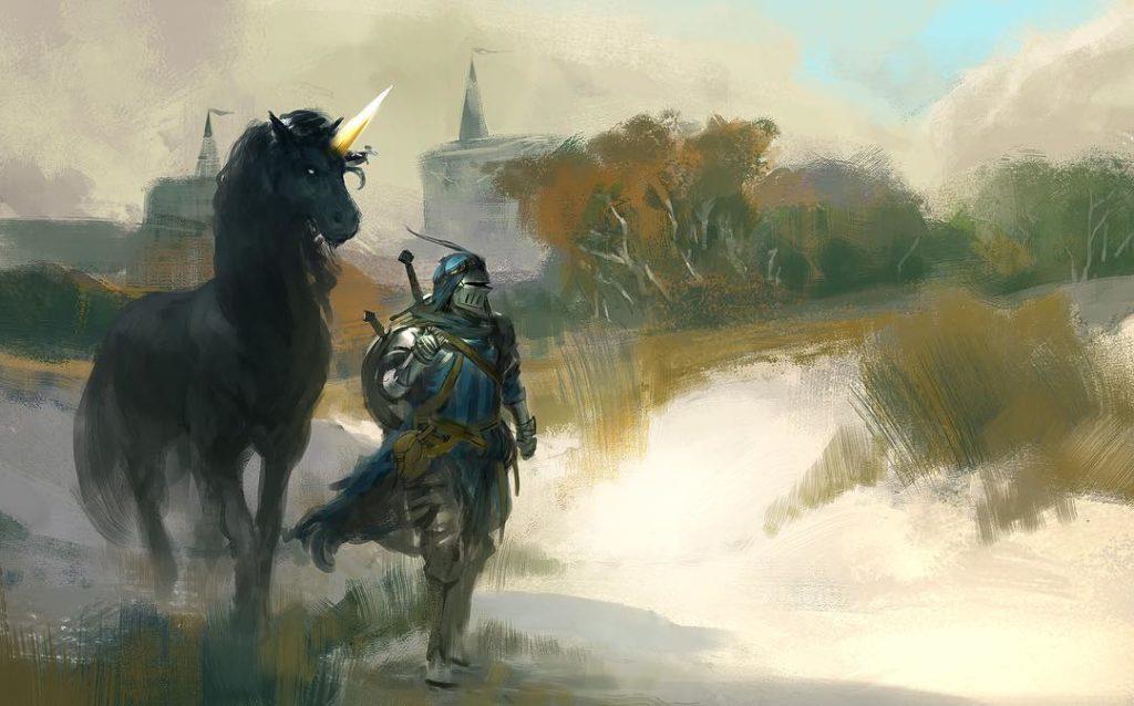 рыцарь и его единорог