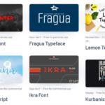 Бесплатные кириллические шрифты.