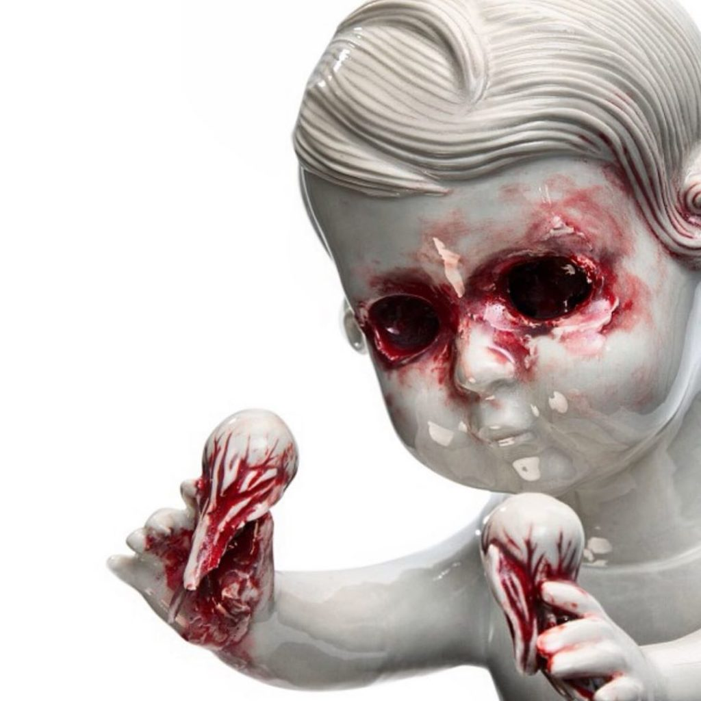 Maria Rubinke вырвиглазная скульптура