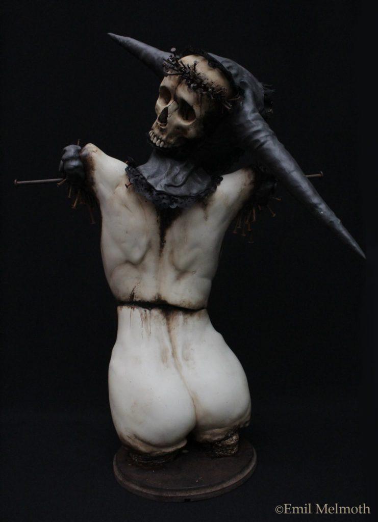 Зловещий скульптор Emil Melmoth