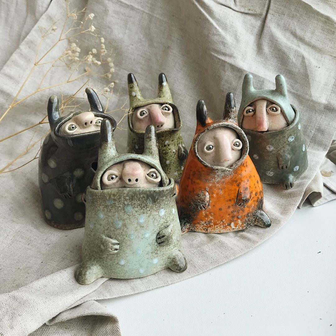 Maria Moon хранители колец керамика