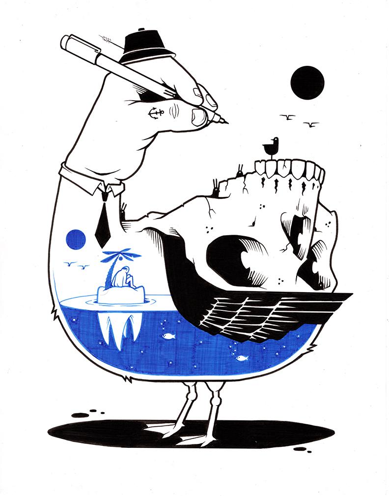 Американский график Jeremy Fish