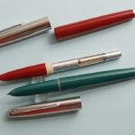 Винтажные и современные перьевые ручки