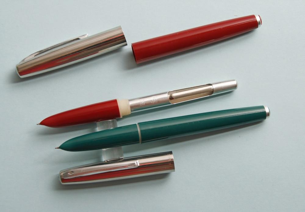 Винтажные ерьевые ручки Golden Star 707
