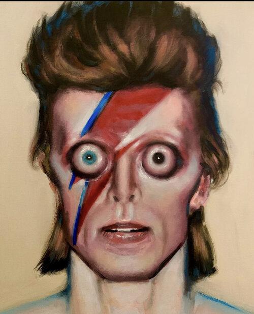 David Bowie (Woke)